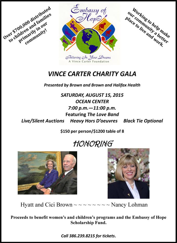 2015 Charity Gala Flyer, 2